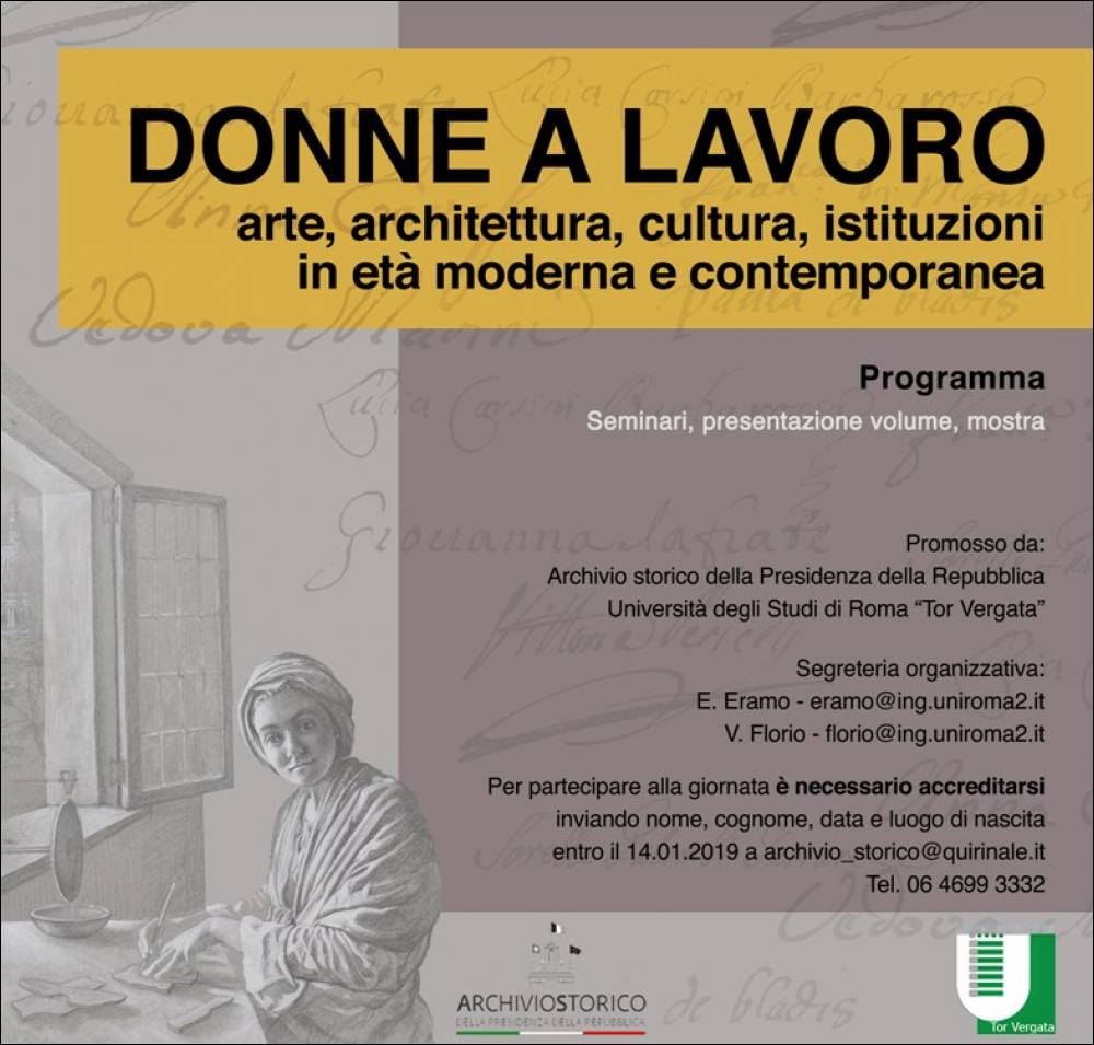 Studi Architettura Roma Lavoro roma / donne a lavoro noi donne