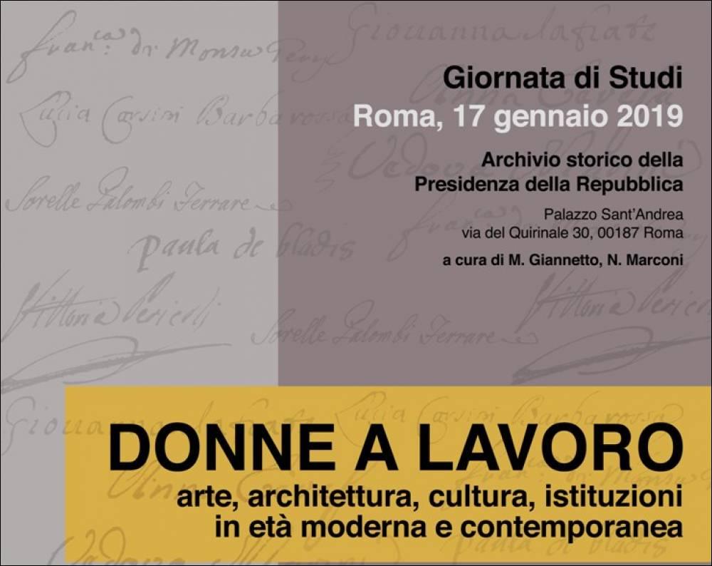 Studi Architettura Roma Lavoro donne della fabbrica di san pietro noidonne