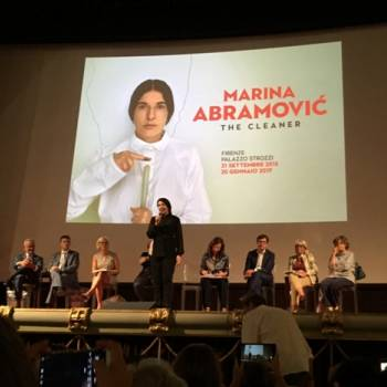 Foto: A Firenze retrospettiva di Marina Abramovic 'The cleaner'